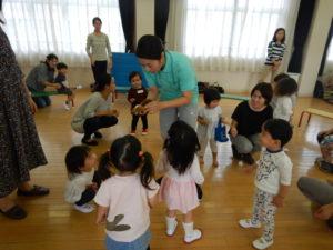 画像:10月11日(金)ミニひよこクラス プチリトミック