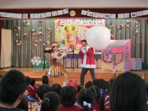 画像:12月13日(金) 園内クリスマス ひよこも一緒に「音もだちコンサート」