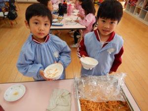 画像:12月16日(月)☆2学期最後の給食☆