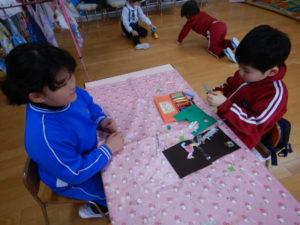 画像:02月10日(月) さくら組のお部屋遊び!