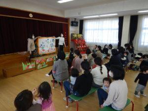 画像:2月21日(金)ミニひよこ ラスト日は折り紙とお話