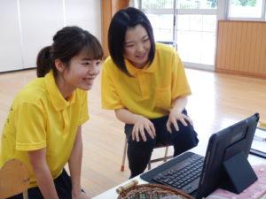 画像:5月25日(月) すみれ組 第一回zoom配信!