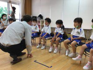 画像:6月23日(火) 初めての英会話&誕生会&灯籠作り&野菜スタンプ