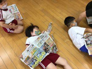 画像:6月12日(金) リトミック&新聞あそび&七夕製作
