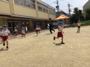 画像:6月4日(木) 公園の草刈り☆体操(年中年長)☆なかよしクラス