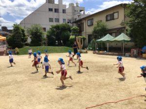 画像:6月24日(水)☆年中組体操&奈良県産の梅ごはん☆