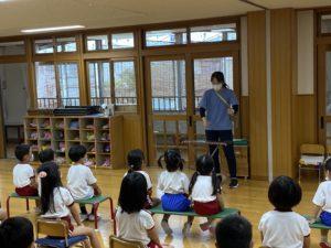 画像:9月4日(金)5歳児つき組&4歳児さくら組なかよしタイム