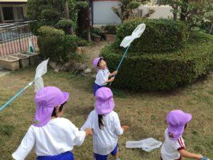 画像:9月17日(木) すみれ組 お外遊び