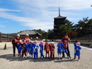 画像:11月5日(木)年少組の遠足~奈良公園~