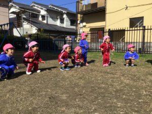 画像:11月9日(月)年少組公園でのサーキット遊び