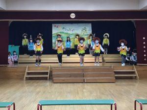 画像:2月15日(月)5歳児年長組の劇遊び
