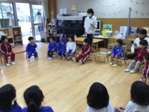 画像:3月4日(木) すみれ組(2歳児クラス)の様子