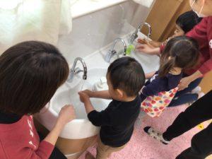 画像:3月22日(月)2歳児プレ保育