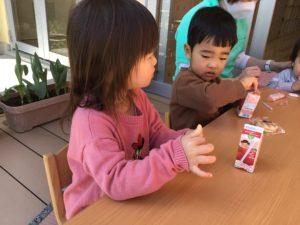 画像:3月24日(木)2歳児プレ保育