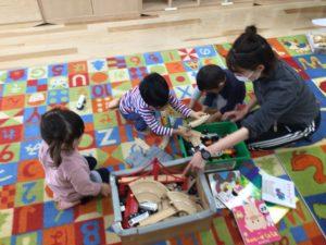 画像:3月26日(金)2歳児プレ保育最終日