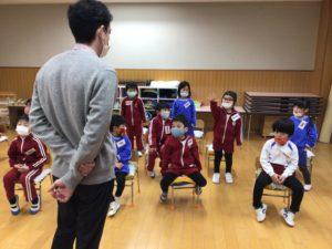 画像:3月2日(火)年中組の英会話