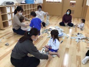 画像:4月14日(水) 1歳児、2歳児クラスとランチルームの様子