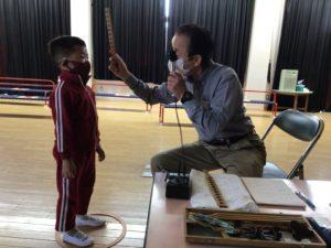 画像:5月11日(火)  眼科検診の様子(3歳〜5歳児)