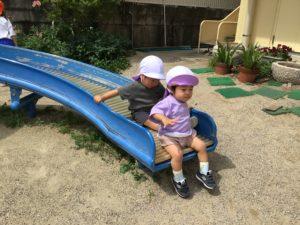画像:6月11日(金)   1、2歳児の様子