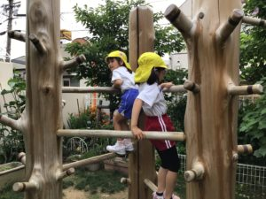 画像:6月22日(火) 年長組の様子
