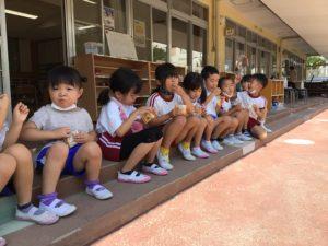 画像:8月2日(月)   子どもたちの様子