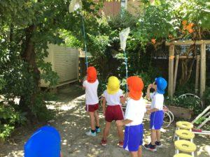 画像:8月5日(木)サマースクール 3、4、5歳児の様子