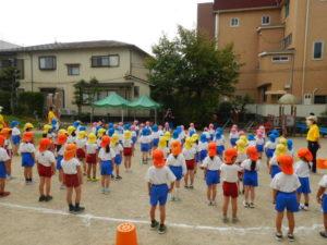 画像:9月30日(木)運動会予行練習の様子