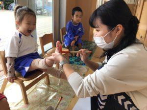 画像:10月19日(火)2歳児の様子♪