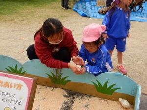 画像:10月20日(水) ~移動動物園~ 子どもたちの様子♪